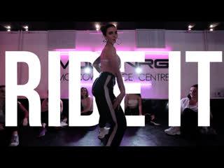 RIDE IT (ISHI HIP HOP REMIX) // Jay Sean // ТАТА // Female Dancehall