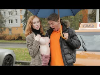 [fakedrivingschool] lenina crowne redhead distracts with no bra on newporn2019