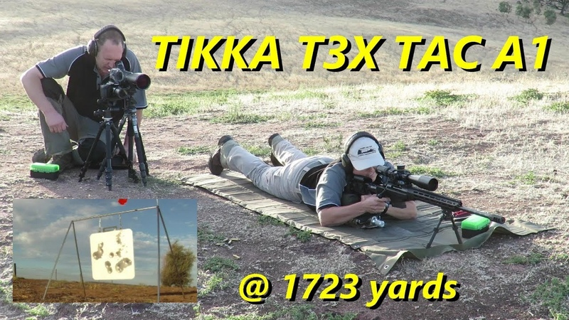 TIKKA T3X TAC A1 at almost a Mile