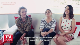 Legendado - Adelaide Kane, Toby Regbo e Megan Follows em entrevista na Comic Con 2014
