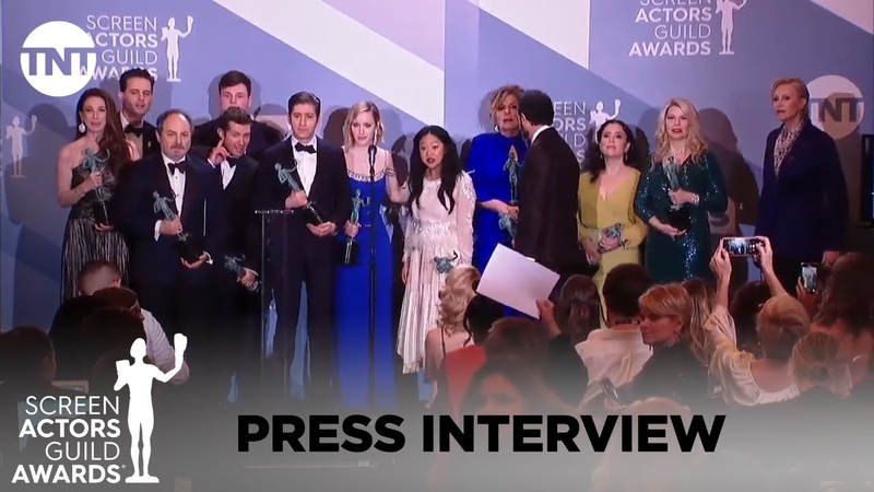 The Marvelous Mrs. Maisel: Press Interview | 26th Annual SAG Awards | TNT