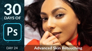 How to Use Frequency Retouching in Photoshop | Day 24