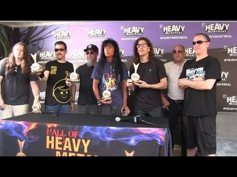 Anthrax inducted into Hall of Heavy Metal History @ Heavy Montreal 2019