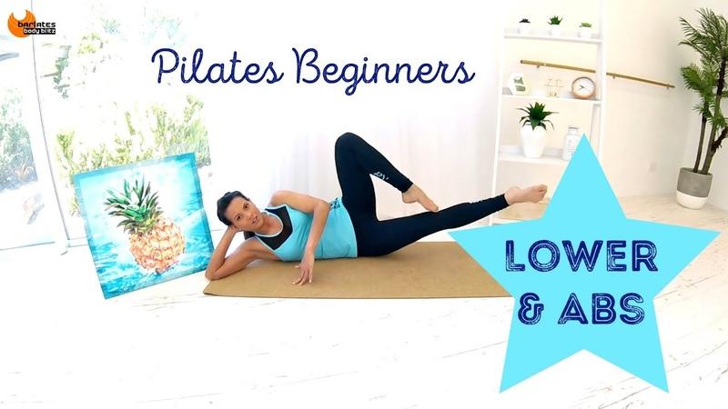 Beginners Pilates workout Mat Workout BARLATES BODY BLITZ Pilates Beginners Lower and Abs
