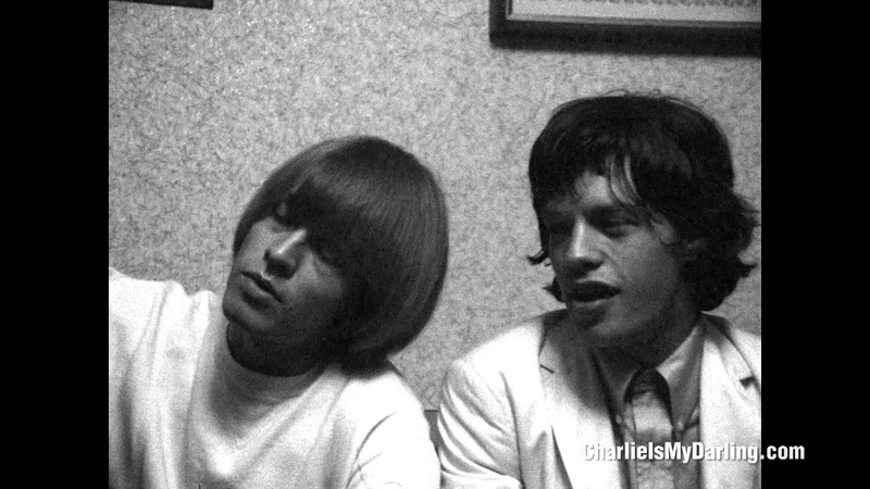 Mick Jagger, Brian Jones Keith Richards at press conference (Charlie is my Darling) | ABKCO Films