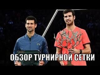 Обзор турнирной сетки  BNP Paribas Masters-2019 от Betting good tennis (BGT)