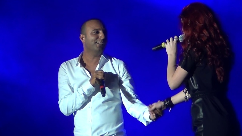 ARASH feat EMELIE Broken Angel Live @ Media City Amphitheatre Dubai Jan 21 2012