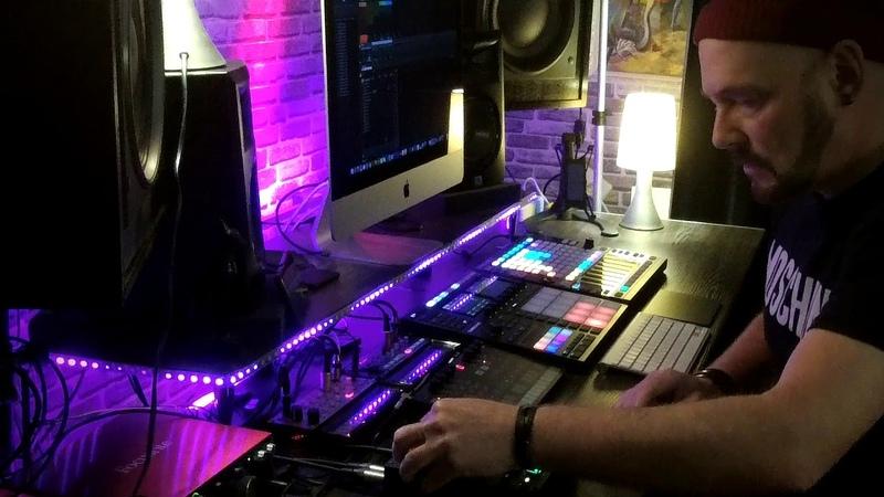 Dub Techno - Deep Session Dub Techno Jam | Elektron Digitakt | Volca FM, Keys | Maschine MK3