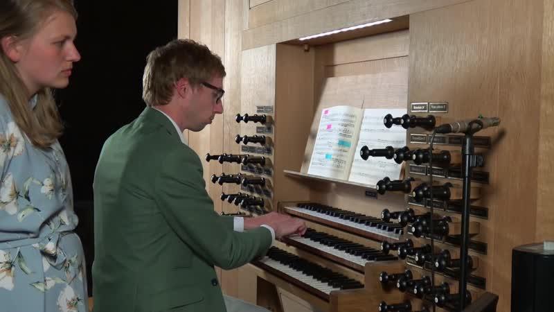 D. Buxtehude - Präludium, Fuge and Ciacona in C-Dur, BuxWV 137 - Gert van Hoef - St. Annakerk Düren organ