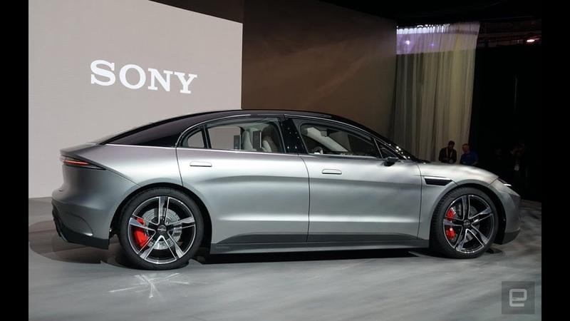 Sony представила электрокар Vision S Электромобиль Сони 2020