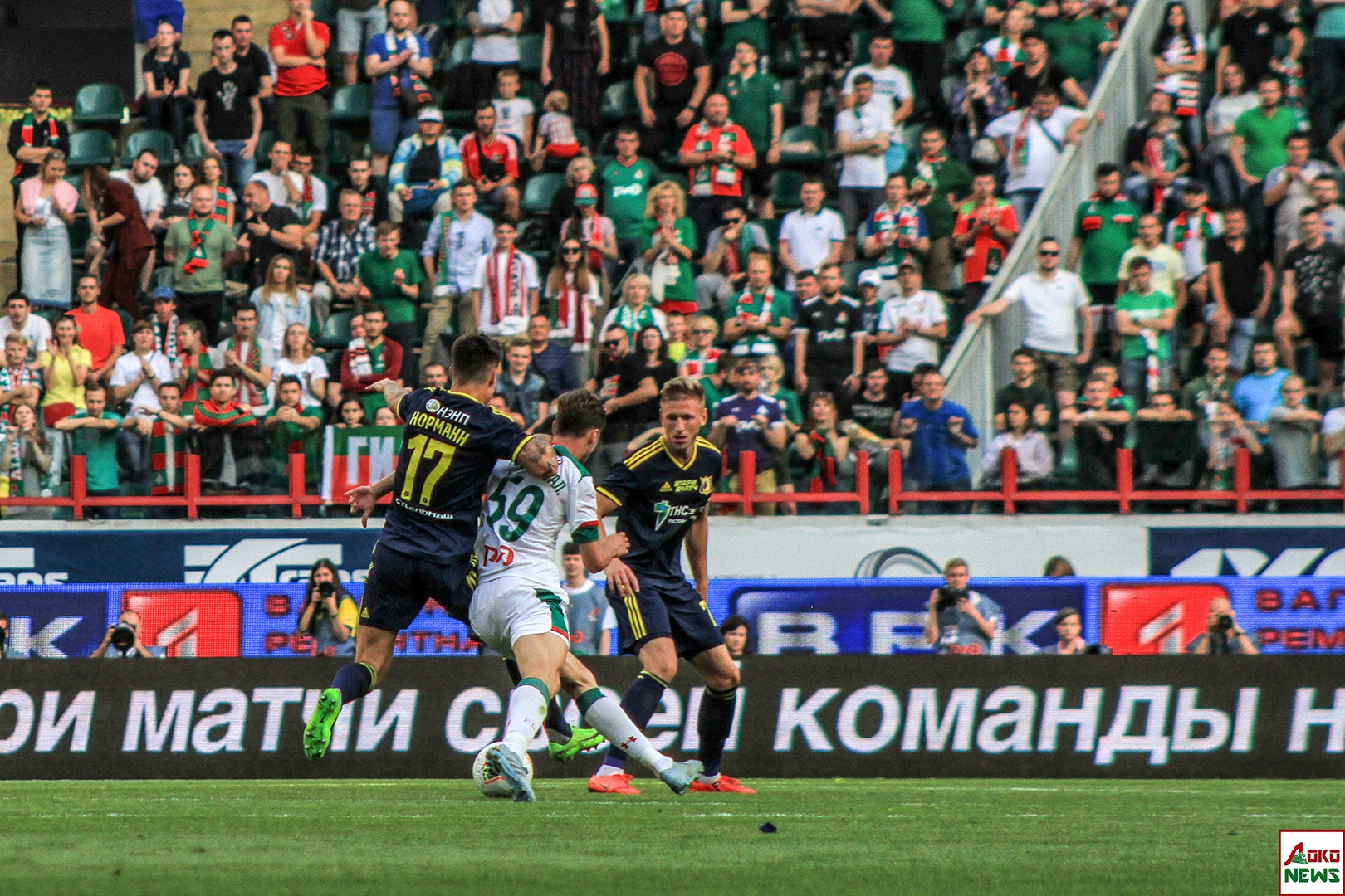 Локомотив - Ростов. Фото: Дмитрий Бурдонов / Loko.News