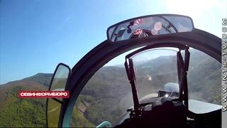 Экипажи истребителей Су-27СМ3 и Су-30М2 приступили к выполнению полётов в сложных условиях
