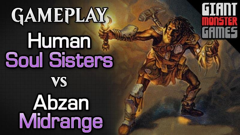 Human Soul Sisters vs Abzan Midrange - MTGO Gameplay 01
