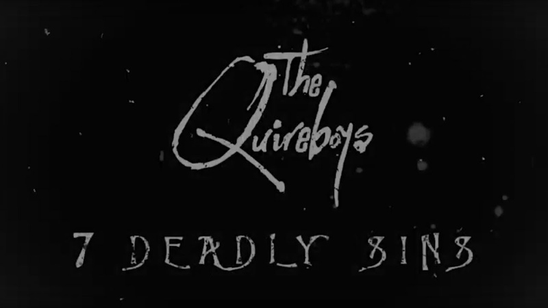 The Quireboys Seven Deadly Sins Official Lyric Video