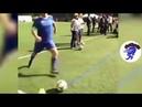 Gianni Infantino batte un calcio d'angolo orribile