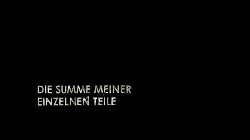 Hans Weingartner Die Summe meiner einzelnen Teile 2011