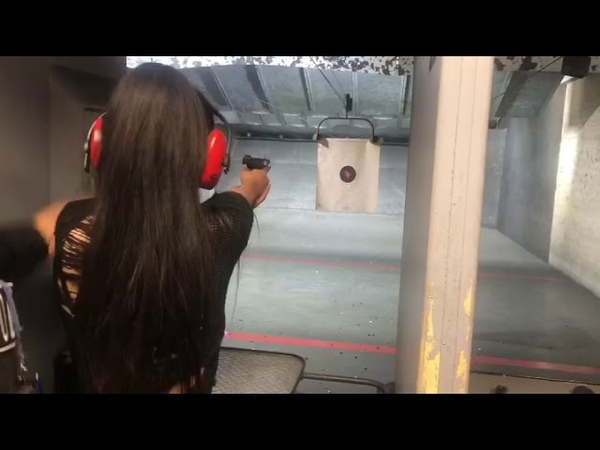 Gun shooting in Houston :) So much fun, especially with police officer