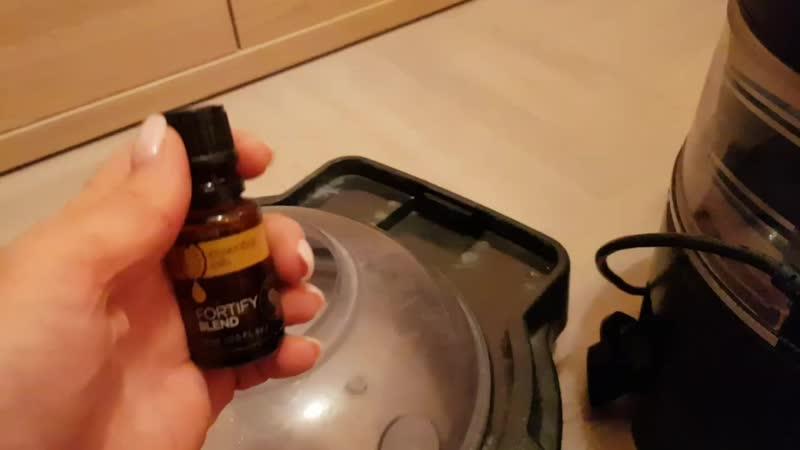 Убираем, увлажняем и ароматизируем квартиру аромакомпозицией Защита нони
