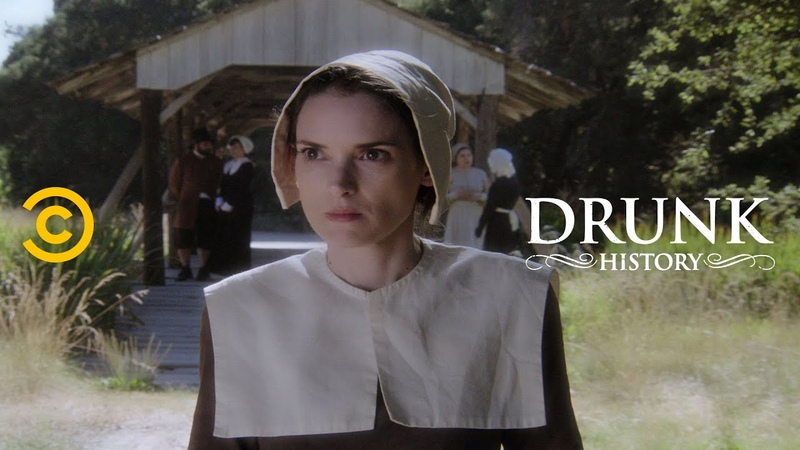 Mary Dyer Takes a Stand for Religious Freedom feat Winona Ryder Drunk History