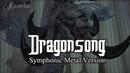 Dragonsong Final Fantasy XIV Heavensward main theme Symphonic Metal Cover