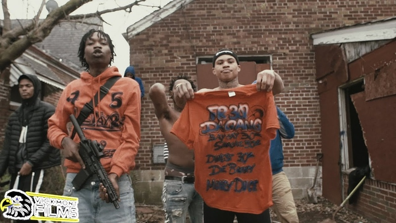 30 Deep Grimeyy Lil Reggie Popout Official Video Shot By @VickMont