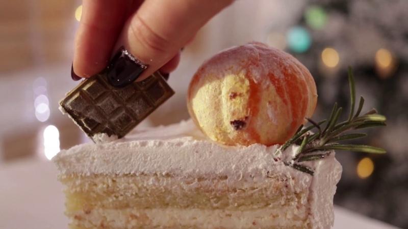Новогодние торты от кондитерской Магиссимо