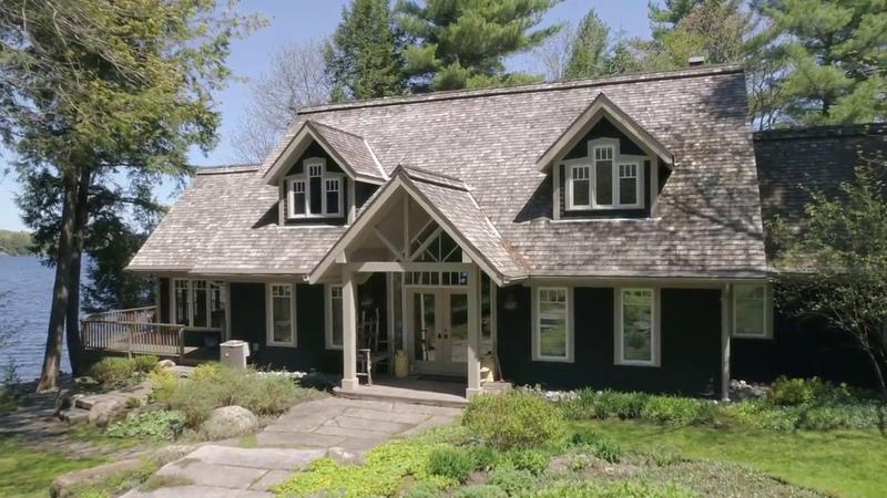 Fabulous Lake Muskoka Cottage and Boathouse Video Tour