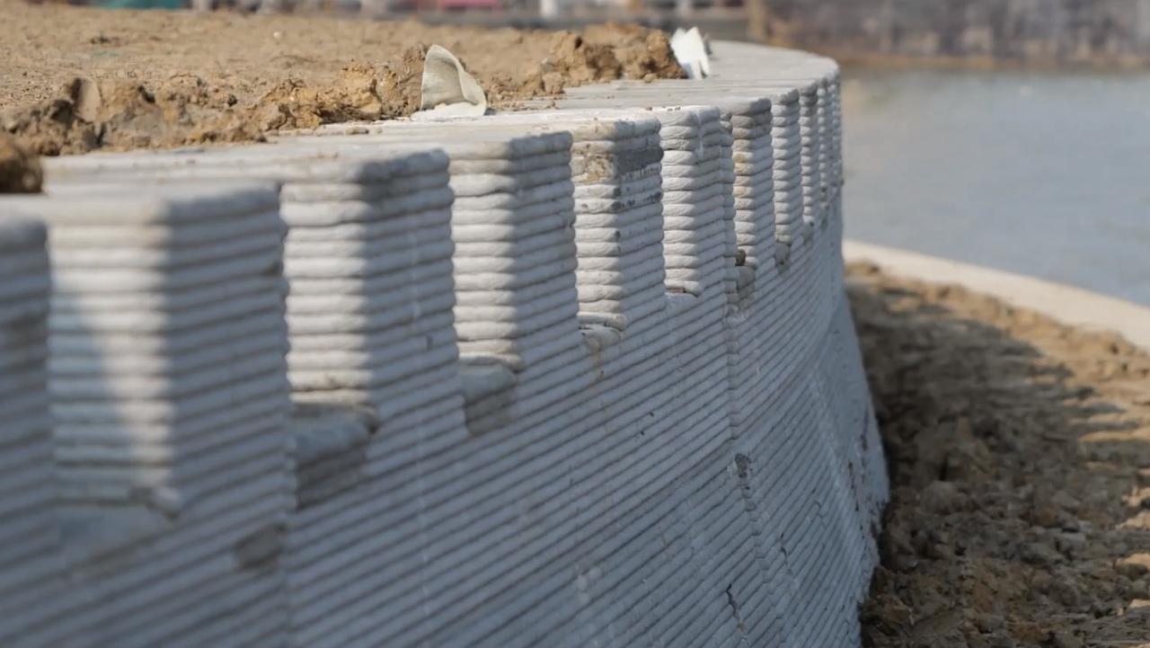 В Китае построили самое большое в мире сооружение по технологии 3D печати