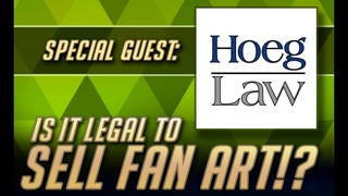 Is FAN ART LEGAL to sell!? Ask Rick Hoeg - Legal talk for artists!