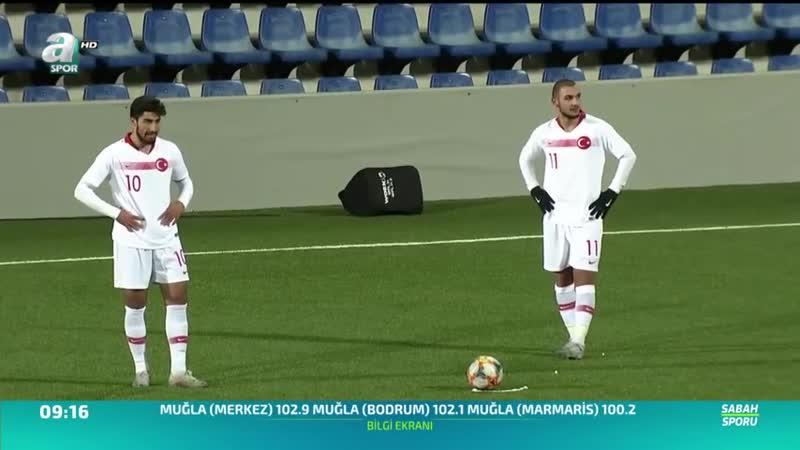 Andorra 2 - 0 Türkiye (U21 Avrupa Futbol Şampiyonası Grup Eleme 6. Maçı)