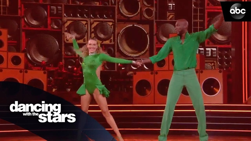 Lamar Odom's Salsa Dancing with the Stars