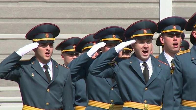 Ряды МЧС пополнят выпускники Академий государственной противопожарной службы игражданской защиты Новости Первый канал