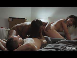 Chanell Heart, Honey Gold - New Neighbors - Sex Asian Ebony Teen Petite Blowjob Doggystyle, Порно
