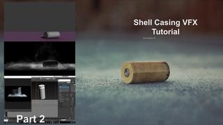 Shell Casing VFX 3ds Max in Fumefx Tutorial Part 2
