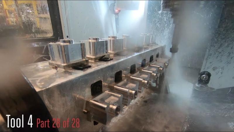 UMC-750P Rotary Fixturing - 28 Part Demo - Haas Automation Inc.