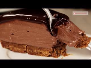 Самый вкусный чизкейк с шоколадной пастой нутелла, без выпечки! восторг!