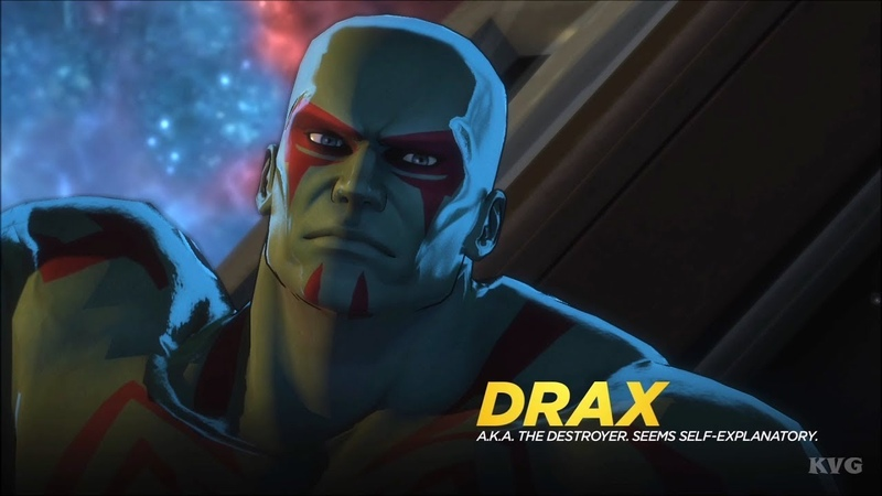 Marvel Ultimate Alliance 3: The Black Order - Drax Gameplay (Nintendo Switch HD) [1080p60FPS]