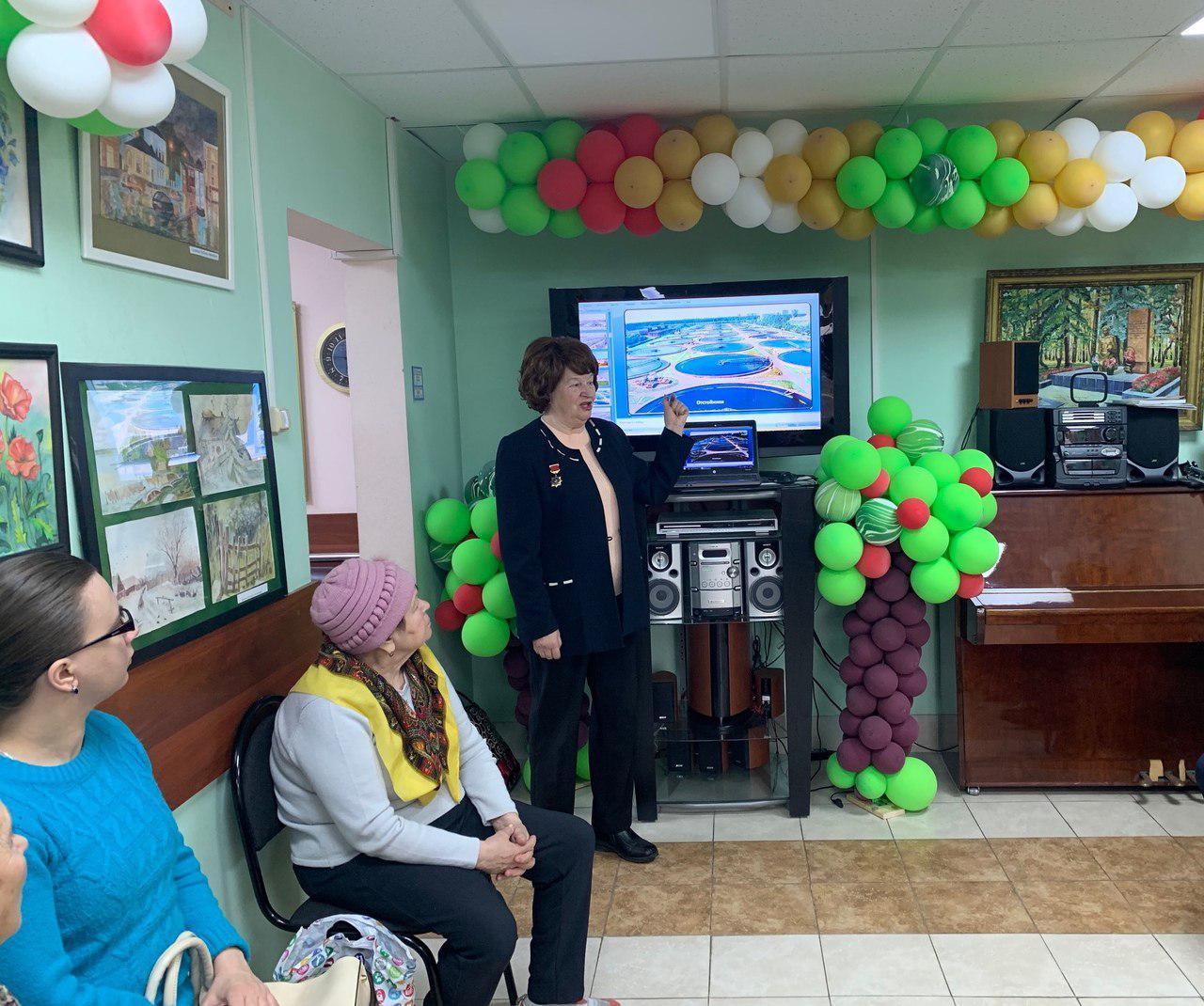 Лекции об истории Некрасовки стартовали в районном центре соцобслуживания