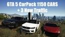 GTA 5 CarPack 1150 CARS 3 New Traffic