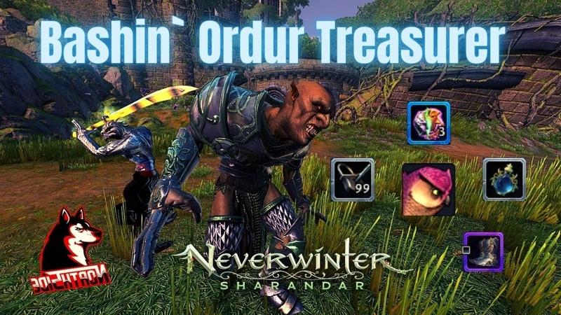 Neverwinter Mod 20 Bashin` Ordur Treasurer How To Rob Him Spawn Point Loot New Sharandar