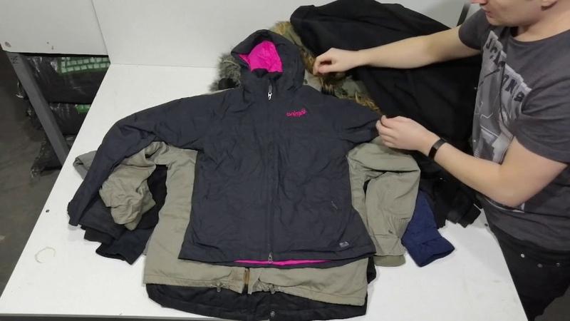 ADULT PUFFA Куртка демисезонная SRS HOLDING купить секондхенд оптом