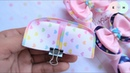 Amazing Ribbon Bow With Clay - Hand Embroidery Works - Ribbon Tricks Easy Making Tutorial 68