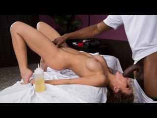 Megan rain - spa for horny housewives 2 (big tits, brunette, blowjob, massage, interracial)