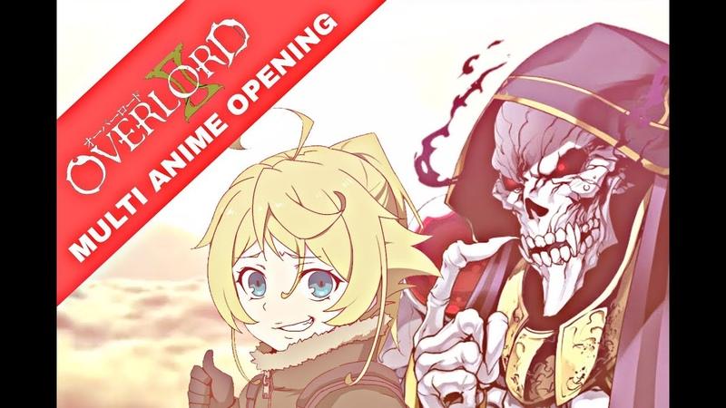 Overlord Season 2 Multi Anime Opening