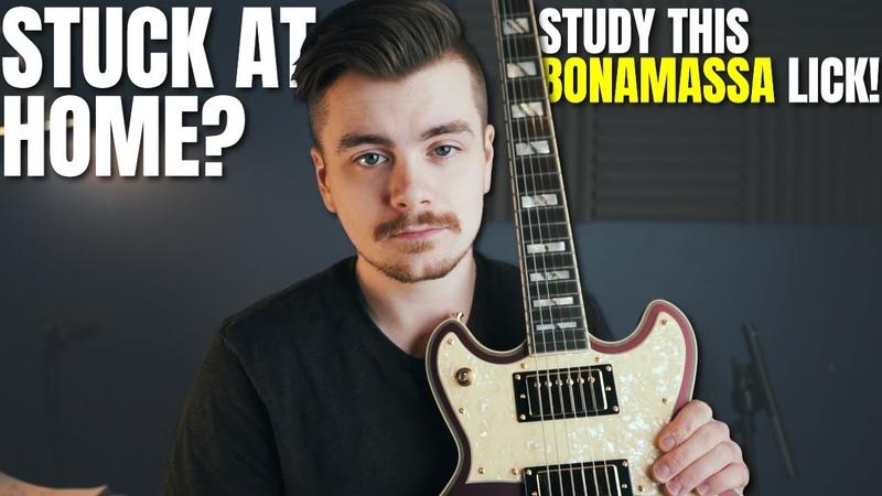 Learn This Sick Bonamassa Mixolydian Lick Lockdown Licks 1