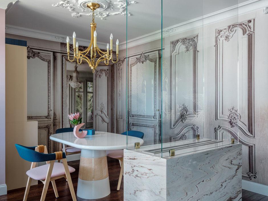 Квартира с ярким декором в Пушкине от Татьяны Пирожковой || 01