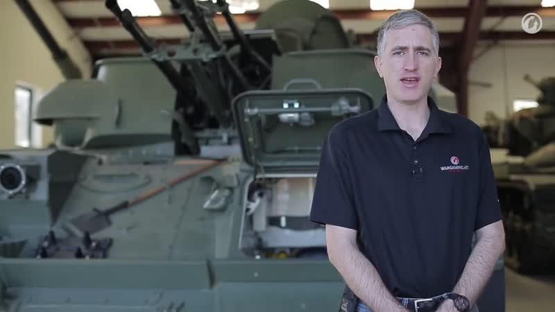 Загляни в реальную ЗСУ 23 4 'Шилка' В командирской рубке World of Tanks mp4