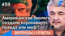 Ищенко отвечает на вопросы зрителей 59: Правда ли, что биологи США создали коронавирус?