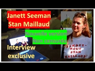 Interview exclusive de Janett Seeman sur l'affaire Stan Maillaud sans censure