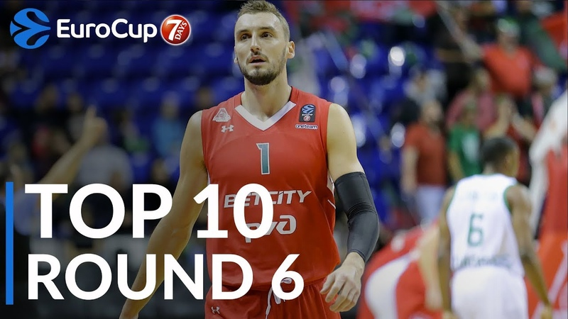 7DAYS EuroCup Regular Season Round 6 Top 10 Plays